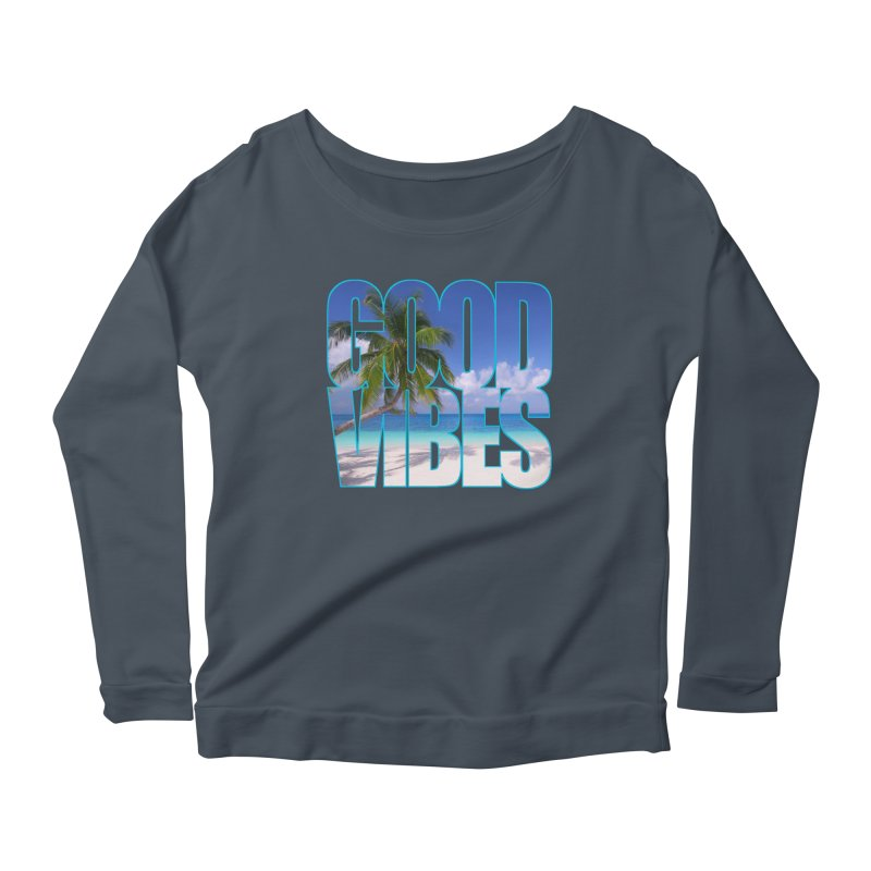 Good Vibes Women's Longsleeve T-Shirt by Caribea