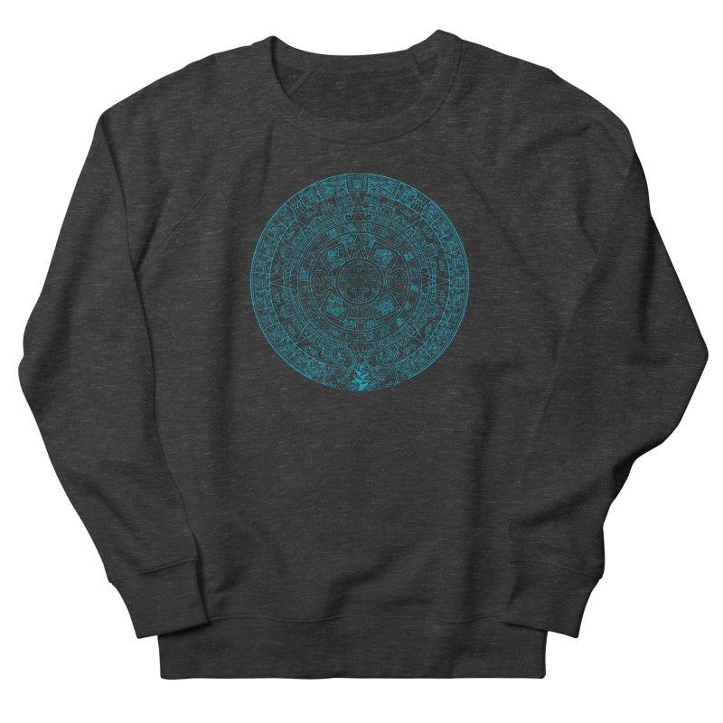 Mayan Calendar Aqua Women's Sweatshirt by Caribea