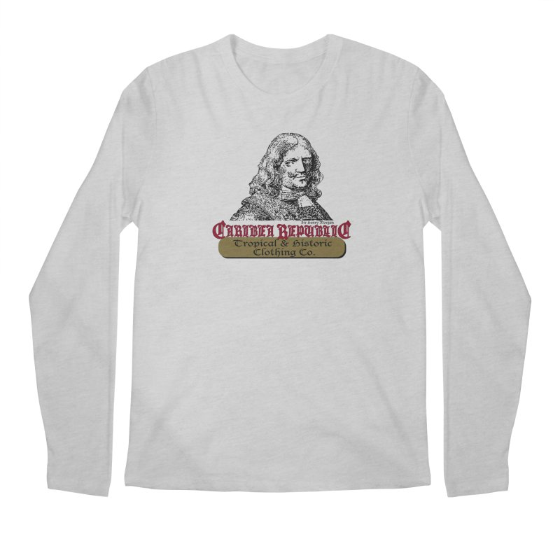 Vintage Sir Henry The Pirate Shirt Men's Longsleeve T-Shirt by Caribea