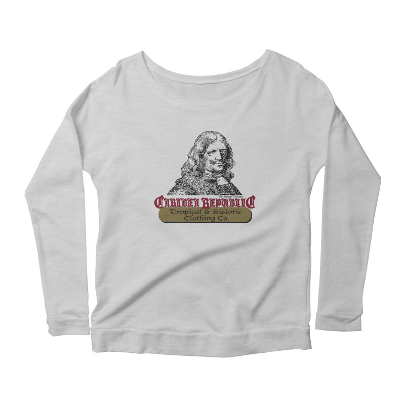 Vintage Sir Henry The Pirate Shirt Women's Scoop Neck Longsleeve T-Shirt by Caribea