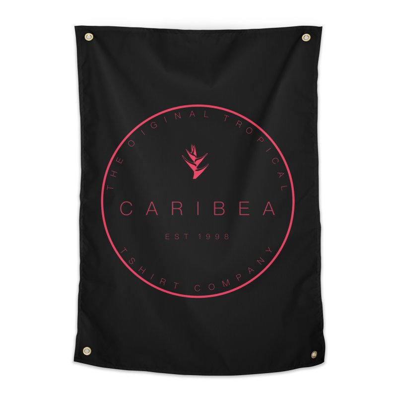 Caribea Red Home Tapestry by Caribea