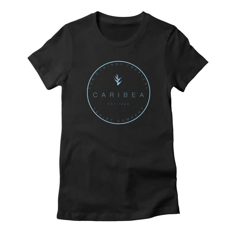 Caribea Blue Women's Fitted T-Shirt by Caribea