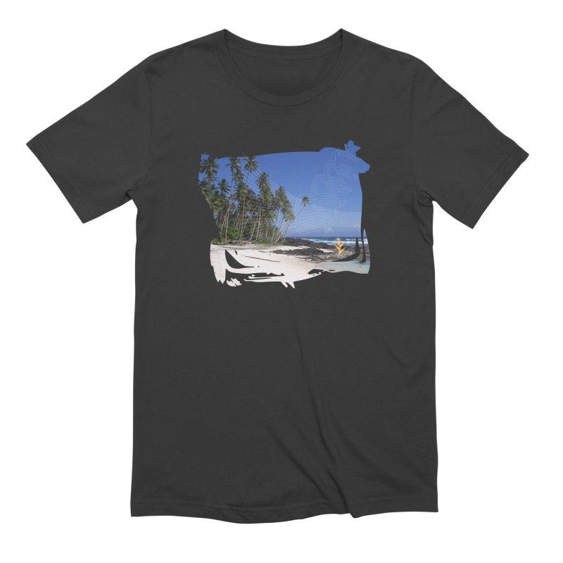 Grunge Beach Men's Extra Soft T-Shirt by Caribea