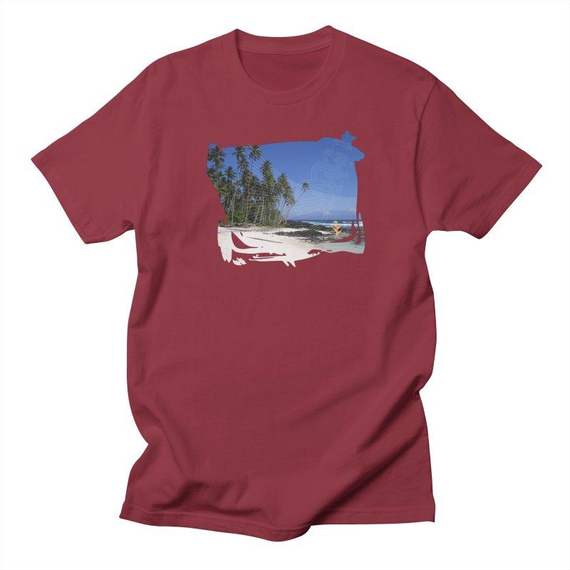Grunge Beach Women's Regular Unisex T-Shirt by Caribea