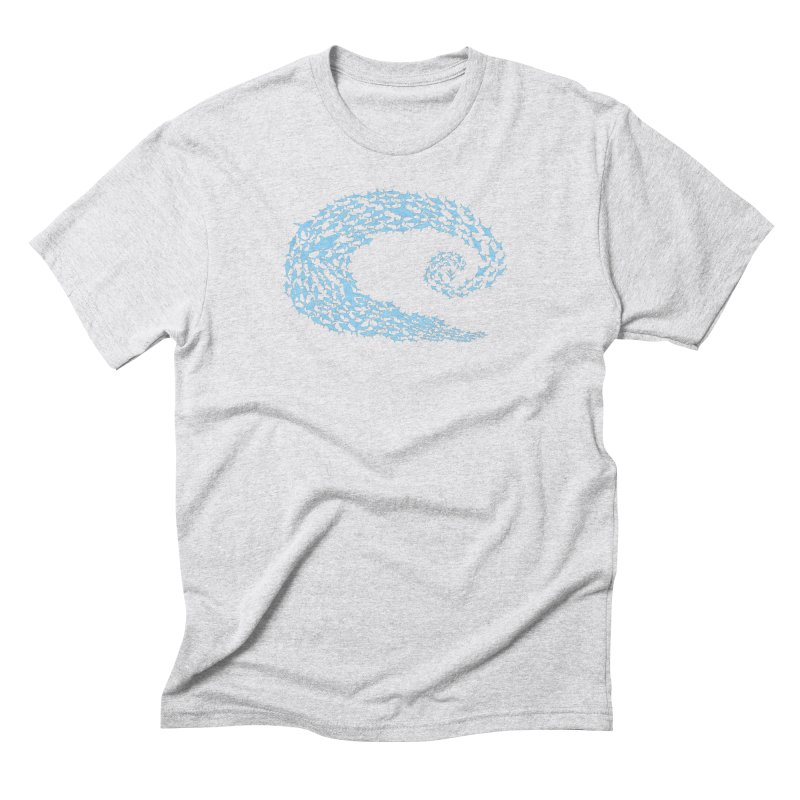 Caribea Blue School Men's Triblend T-Shirt by Caribea