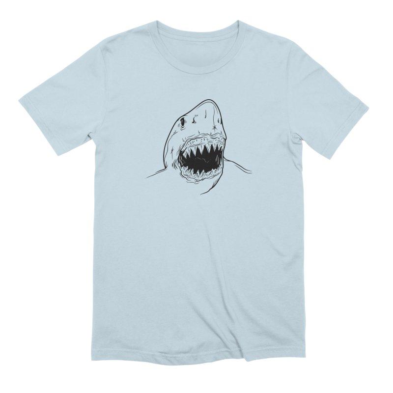 Caribea Shark Men's Extra Soft T-Shirt by Caribea