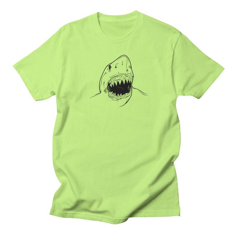 Caribea Shark Women's Regular Unisex T-Shirt by Caribea