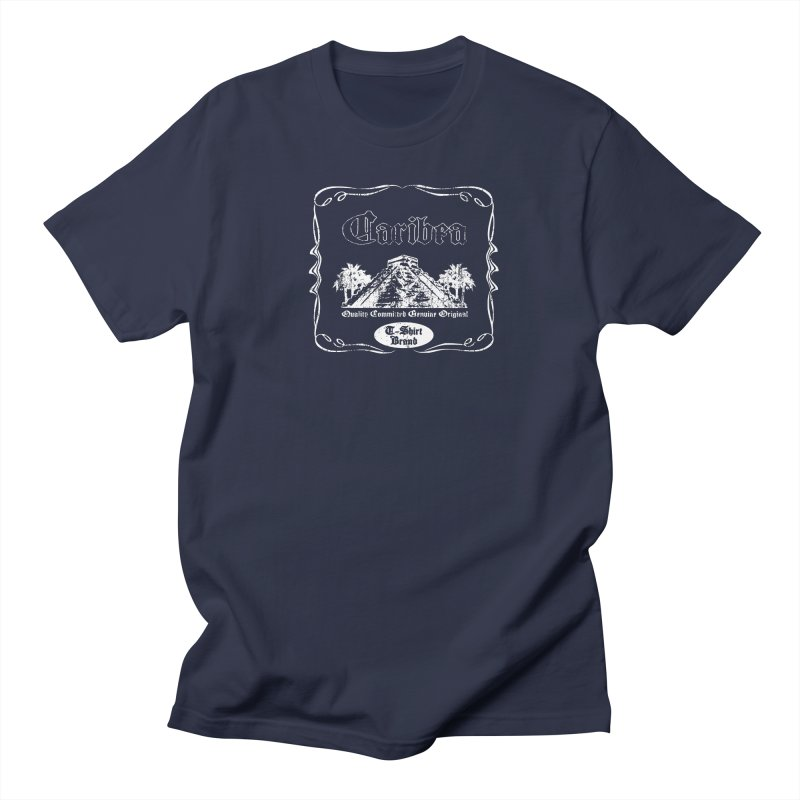 Caribea White Pyramid Women's Regular Unisex T-Shirt by Caribea