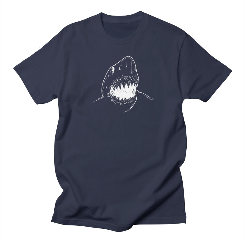 Caribea Great White Shark Men's Regular T-Shirt by Caribea