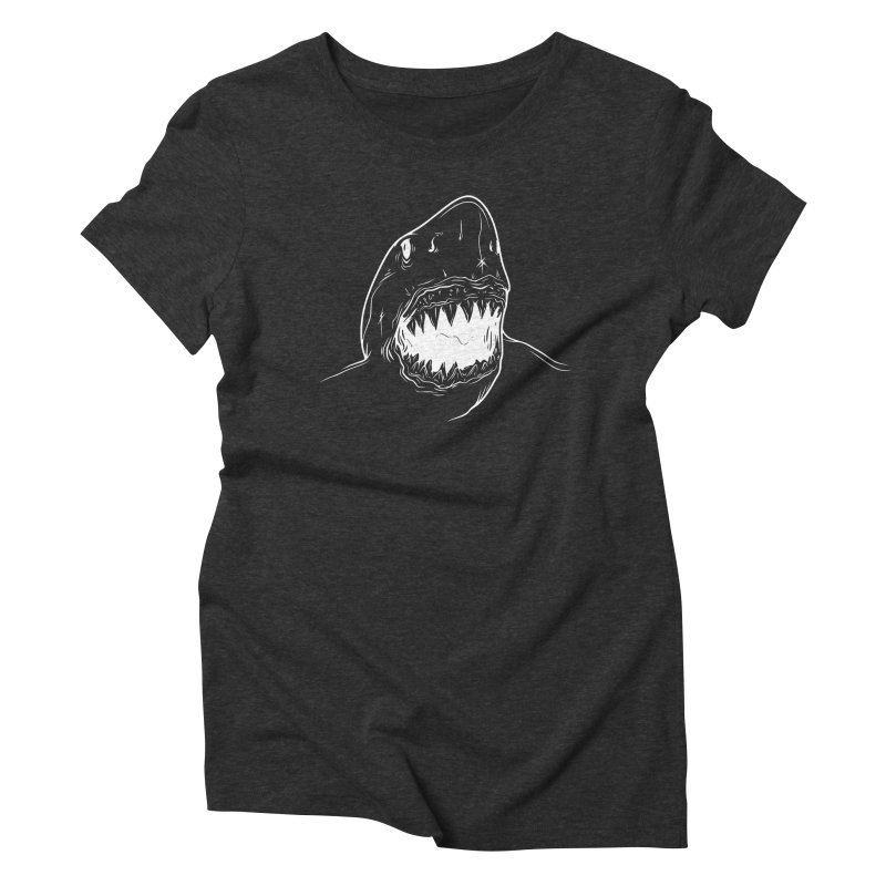 Caribea Great White Shark Women's Triblend T-Shirt by Caribea