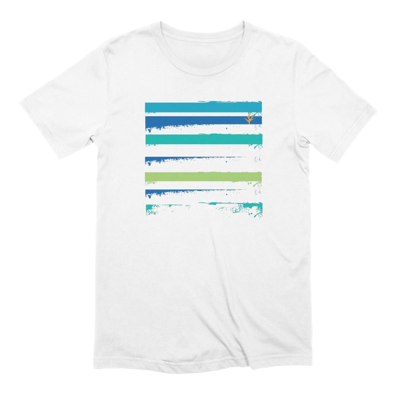 Beach Bars Grunge Men's Extra Soft T-Shirt by Caribea
