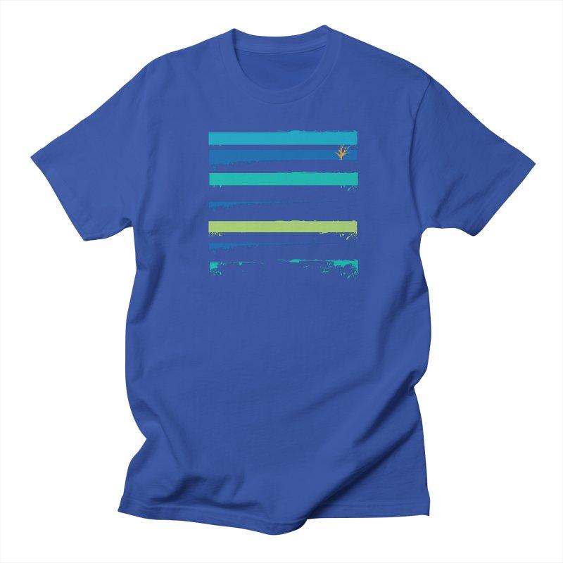 Beach Bars Grunge Women's Regular Unisex T-Shirt by Caribea