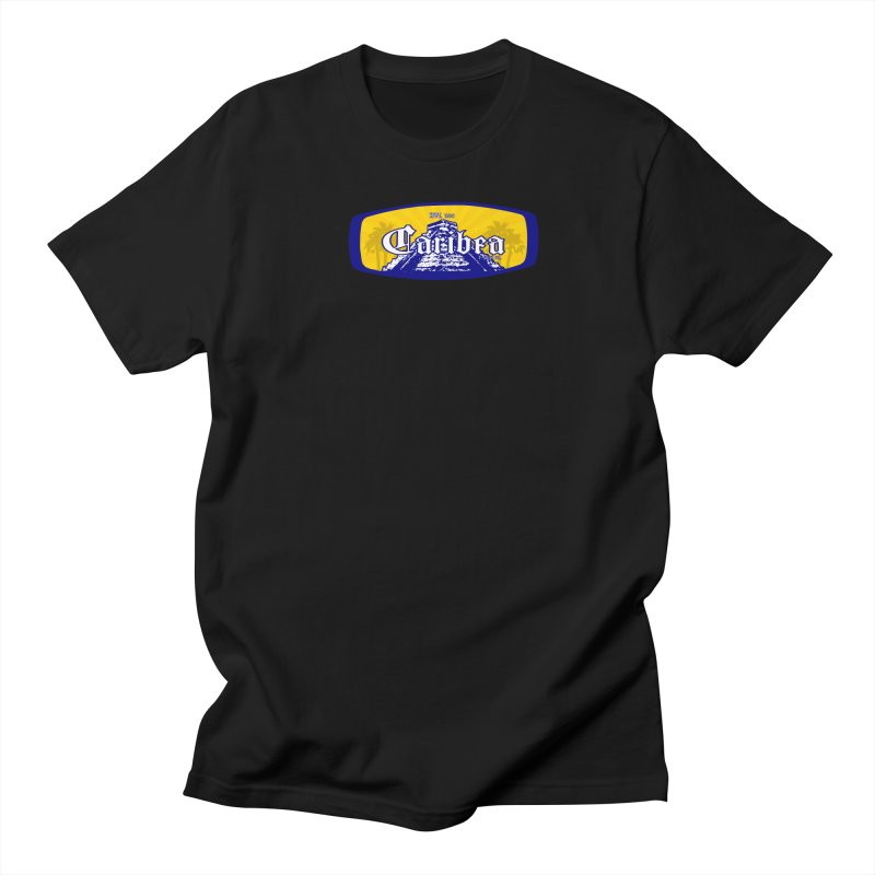 Mayan Sun Rays Blue Women's Regular Unisex T-Shirt by Caribea