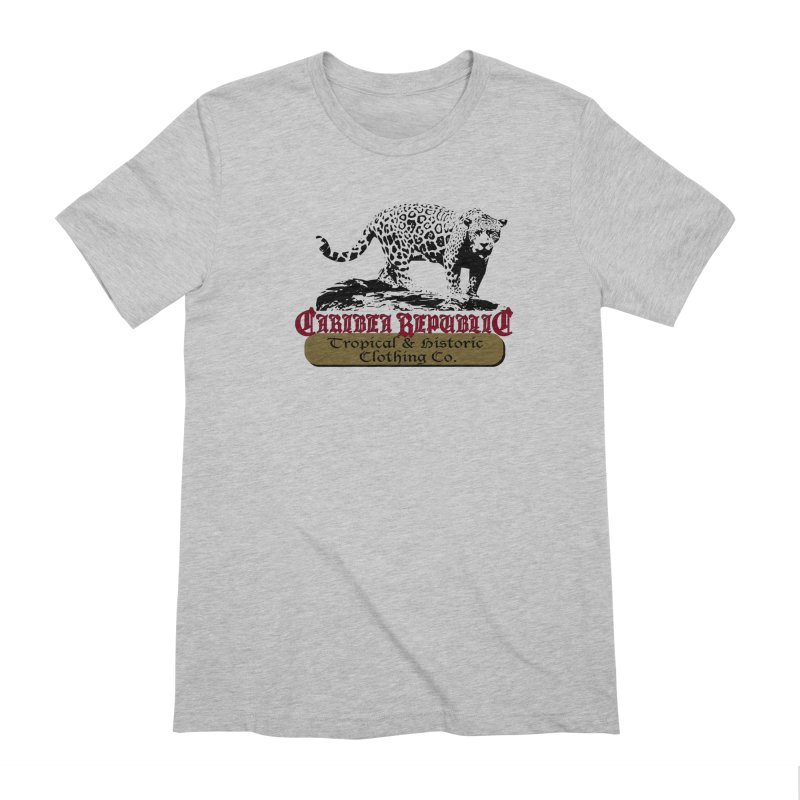 Caribea Jaguar Men's Extra Soft T-Shirt by Caribea