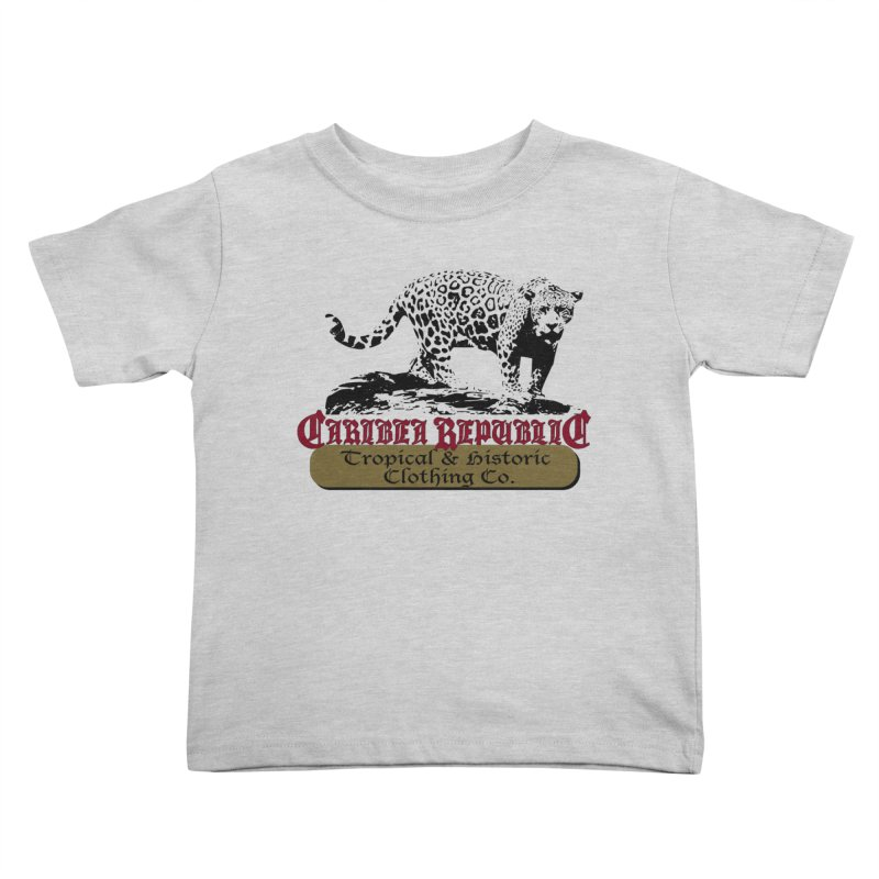 Caribea Jaguar Kids Toddler T-Shirt by Caribea