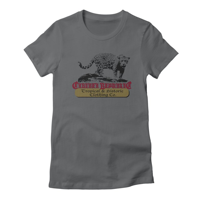 Caribea Jaguar Women's Fitted T-Shirt by Caribea
