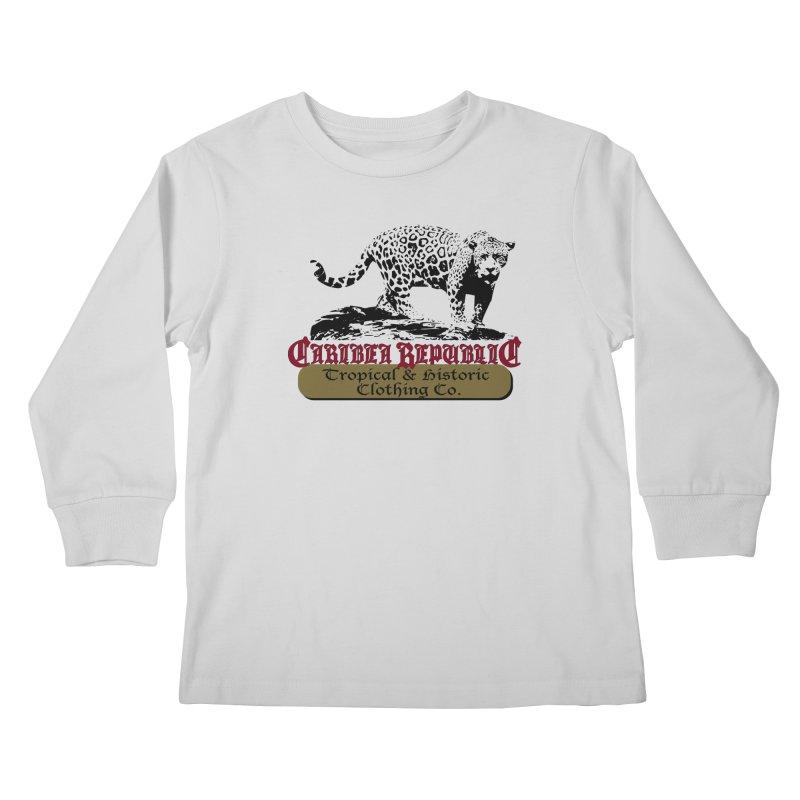 Caribea Jaguar Kids Longsleeve T-Shirt by Caribea