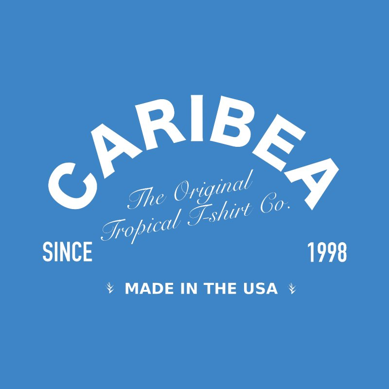 Caribea Banner White Women's Longsleeve T-Shirt by Caribea