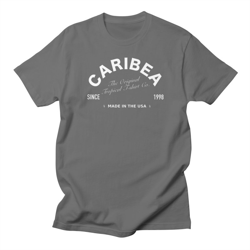 Caribea Banner White Men's T-Shirt by Caribea