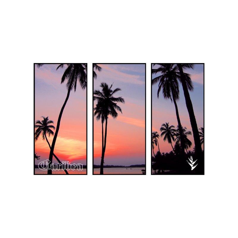 Palm Island Sunset Women's T-Shirt by Caribea