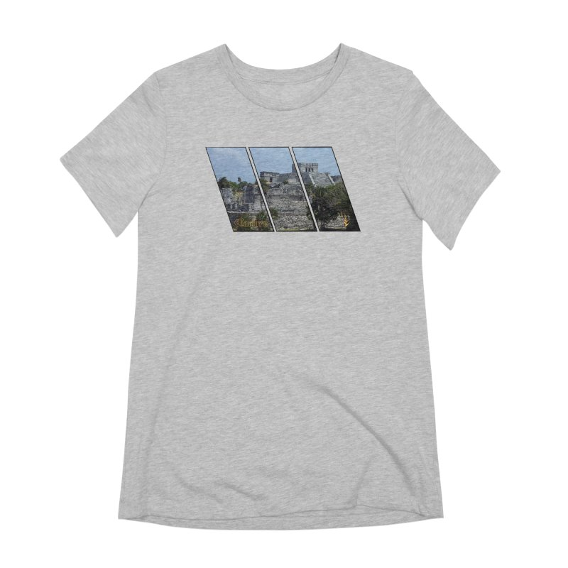 Tulum Slants Women's Extra Soft T-Shirt by Caribea