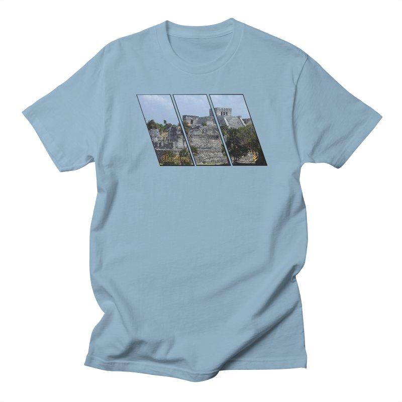 Tulum Slants Men's Regular T-Shirt by Caribea