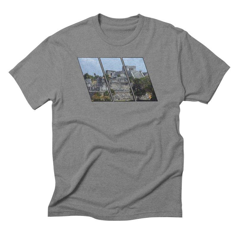 Tulum Slants Men's Triblend T-Shirt by Caribea