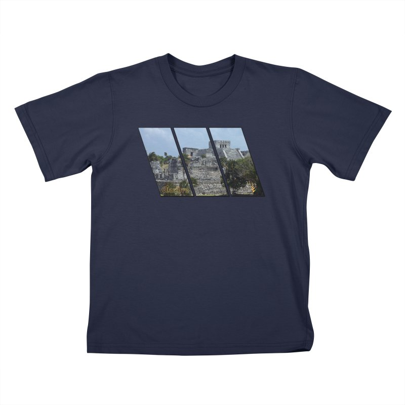 Tulum Slants Kids T-Shirt by Caribea