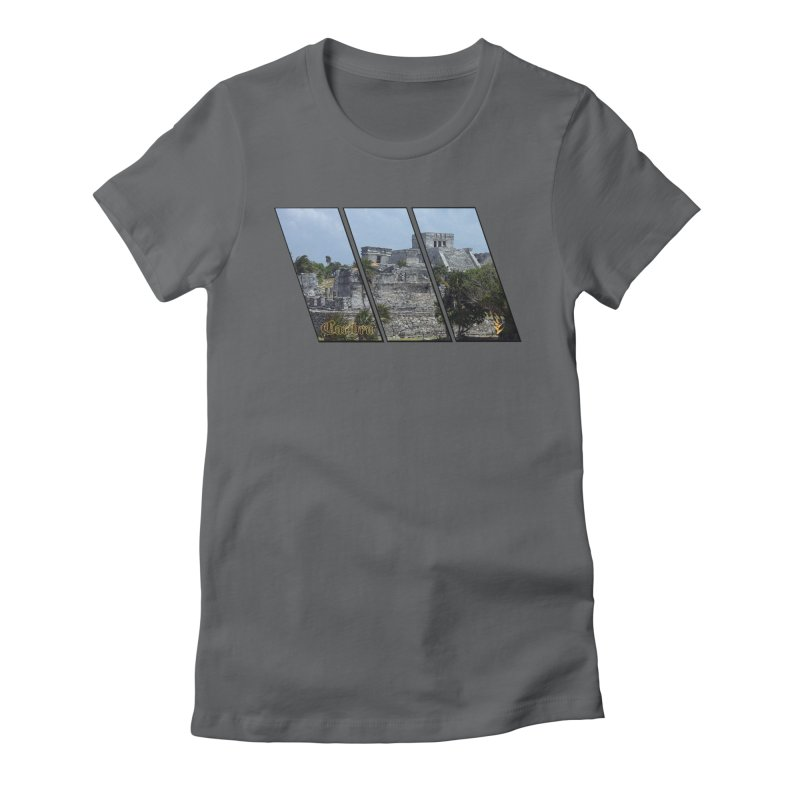 Tulum Slants Women's Fitted T-Shirt by Caribea