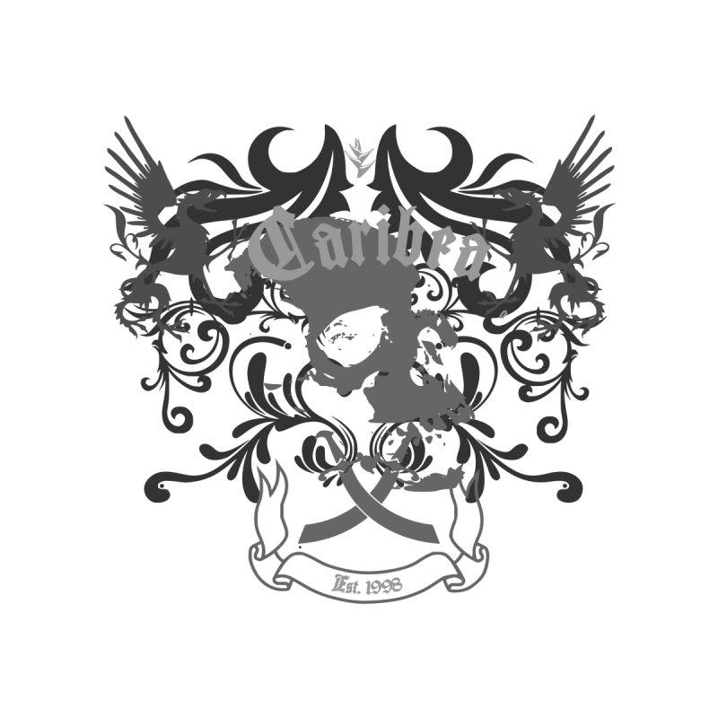 Caribea Skulls Crest Men's T-Shirt by Caribea