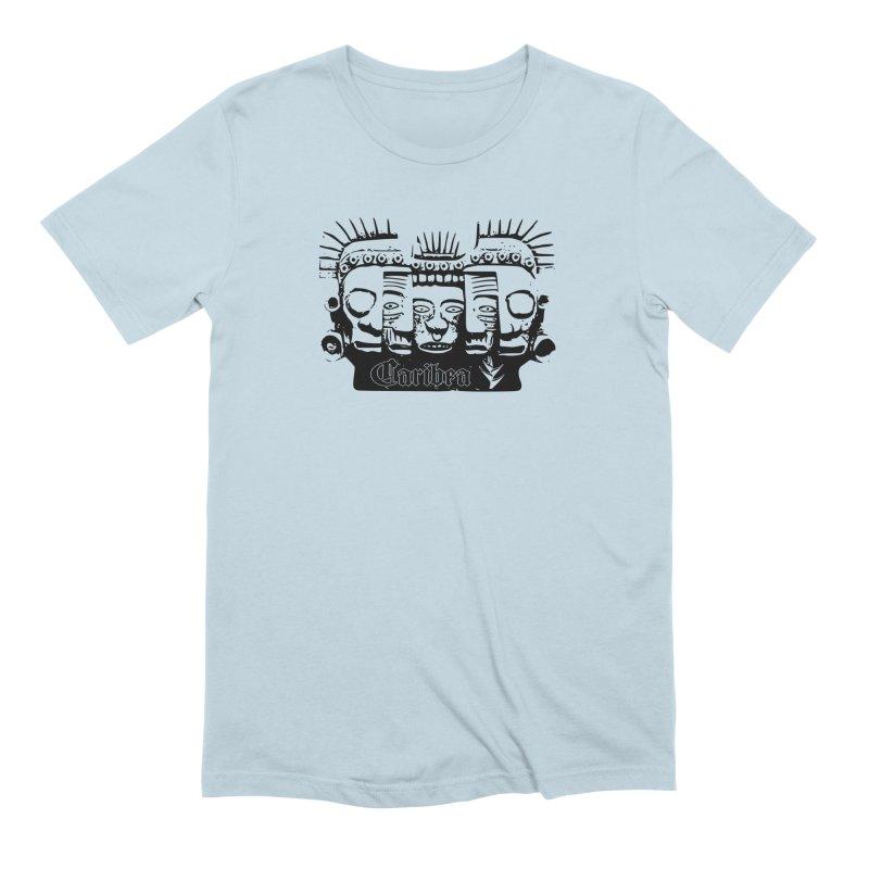 Caribea Masks Black Men's T-Shirt by Caribea