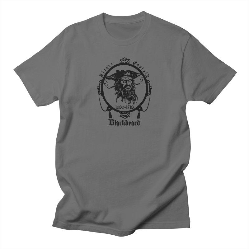 Captain Blackbeard Men's T-Shirt by Caribea