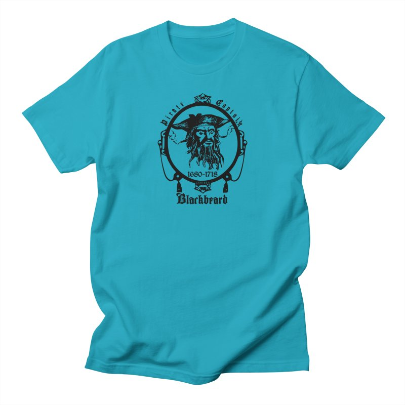 Captain Blackbeard Men's Regular T-Shirt by Caribea