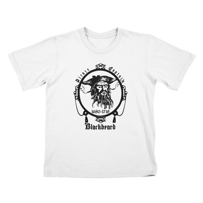 Captain Blackbeard Kids T-Shirt by Caribea