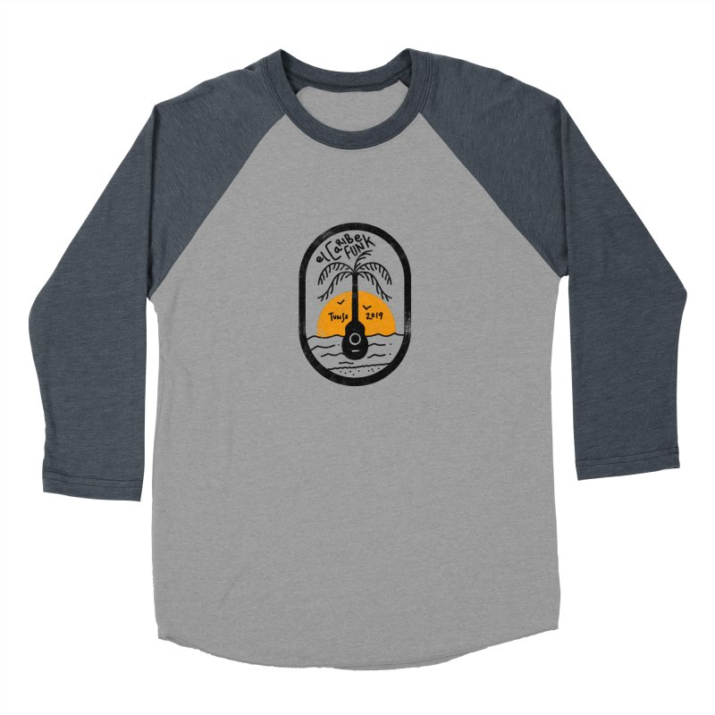 TUNSE 2019 Men's Baseball Triblend Longsleeve T-Shirt by Caribefunk Store