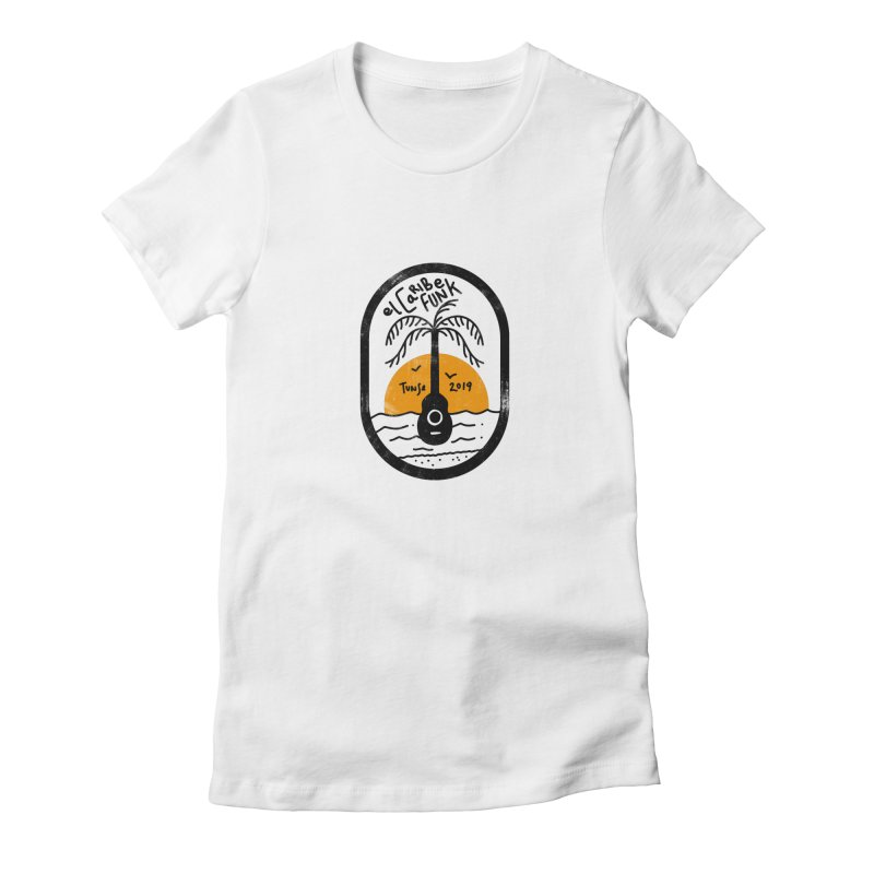 TUNSE 2019 Women's Fitted T-Shirt by Caribefunk Store