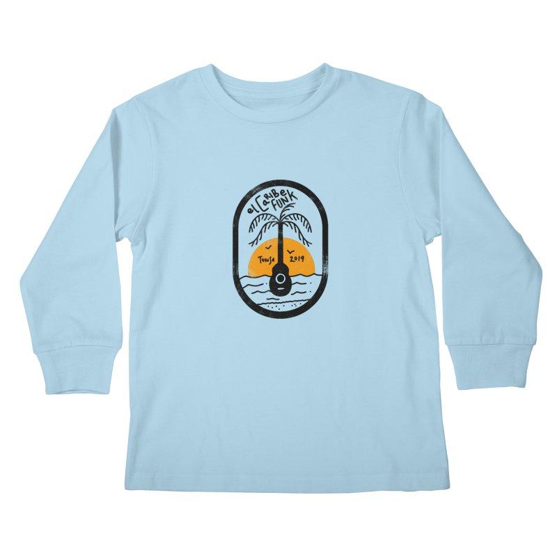 TUNSE 2019 Kids Longsleeve T-Shirt by Caribefunk Store