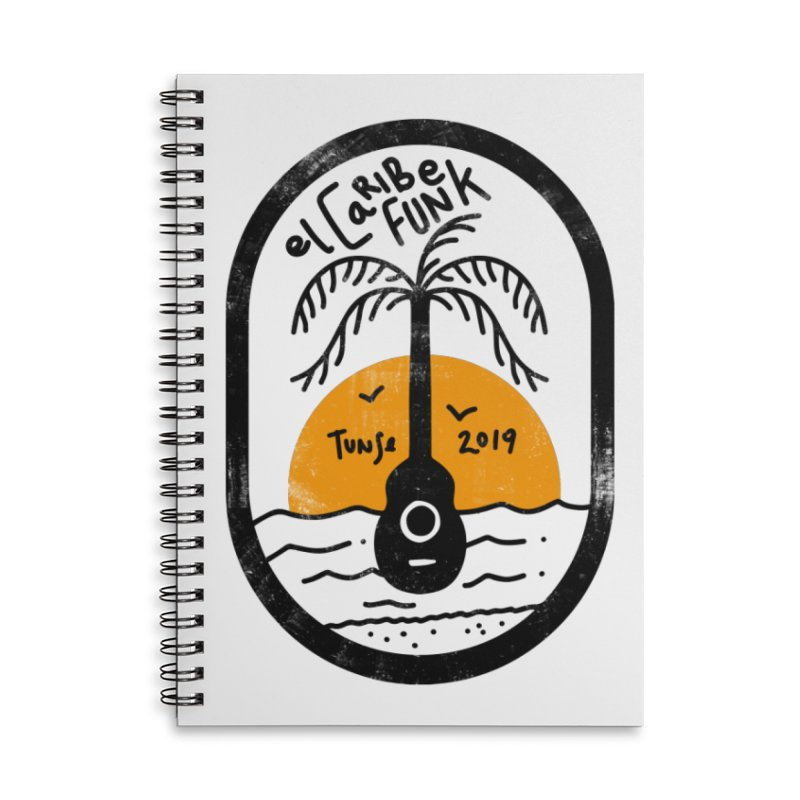 TUNSE 2019 Accessories Lined Spiral Notebook by Caribefunk Store