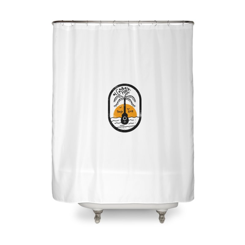 TUNSE 2019 Home Shower Curtain by Caribefunk Store