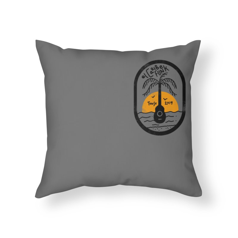 TUNSE 2019 Home Throw Pillow by Caribefunk Store
