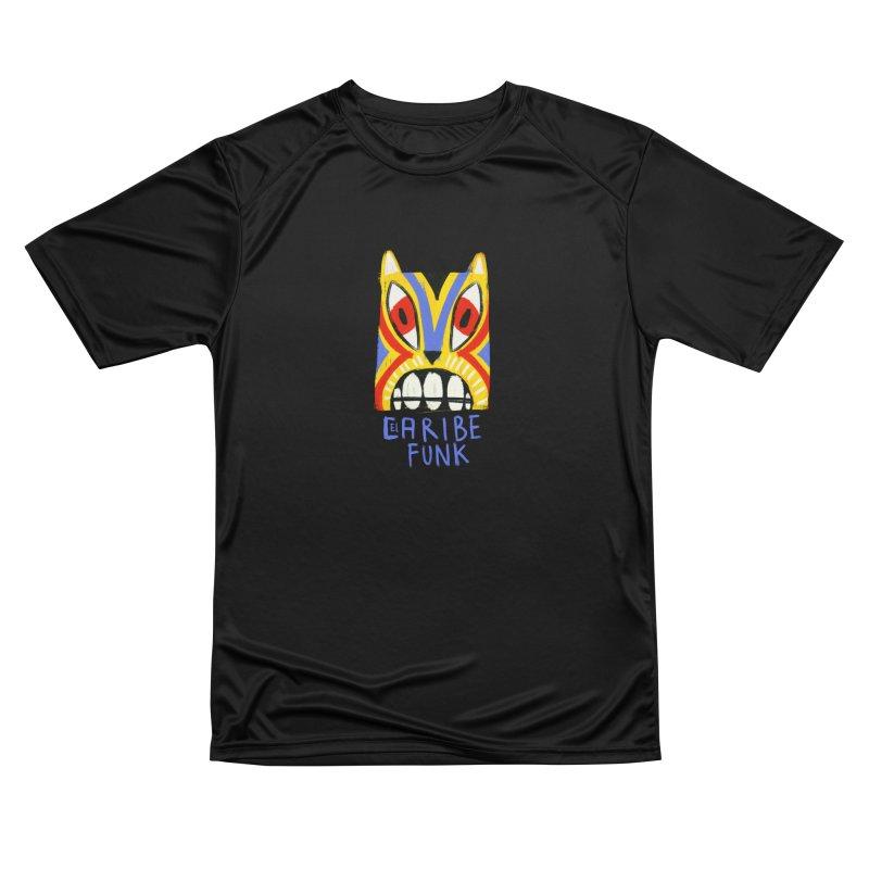 A MI BURRO Men's Performance T-Shirt by Caribefunk Store