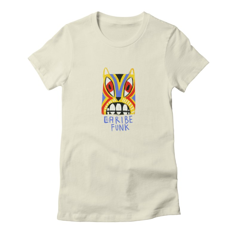 A MI BURRO Women's Fitted T-Shirt by Caribefunk Store