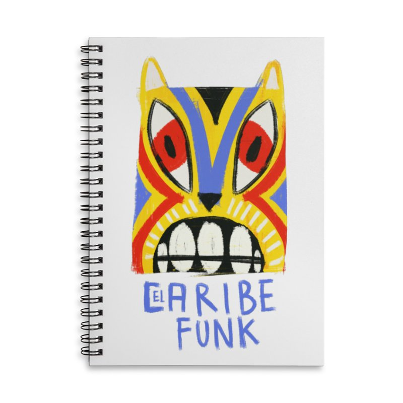 A MI BURRO Accessories Lined Spiral Notebook by Caribefunk Store