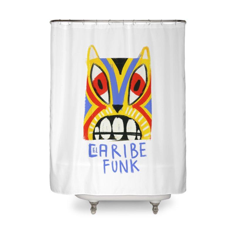 A MI BURRO Home Shower Curtain by Caribefunk Store