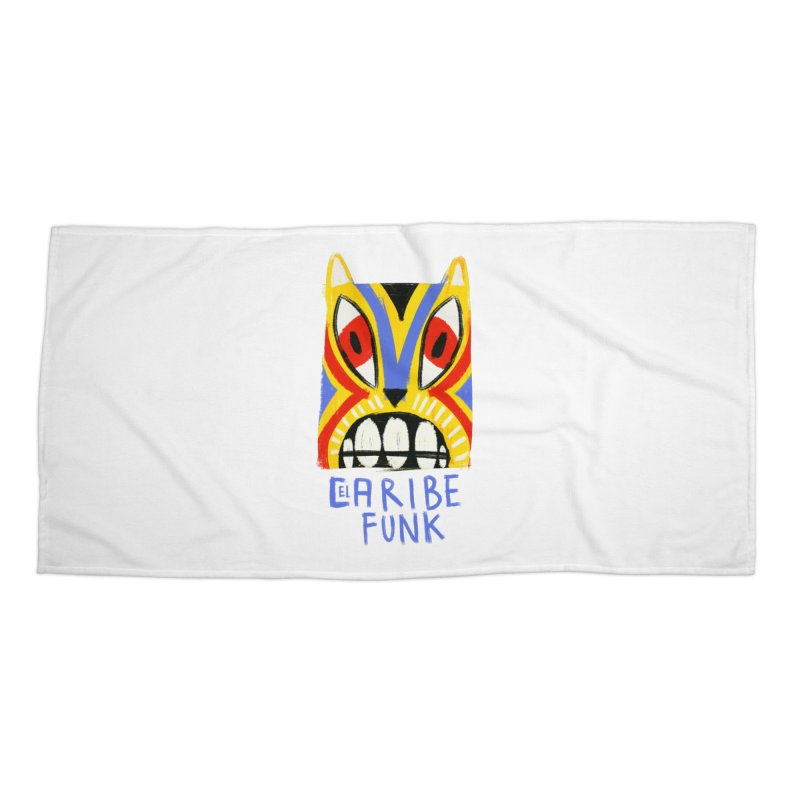 A MI BURRO Accessories Beach Towel by Caribefunk Store