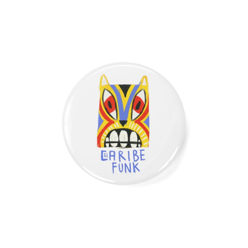 A MI BURRO Accessories Button by Caribefunk Store