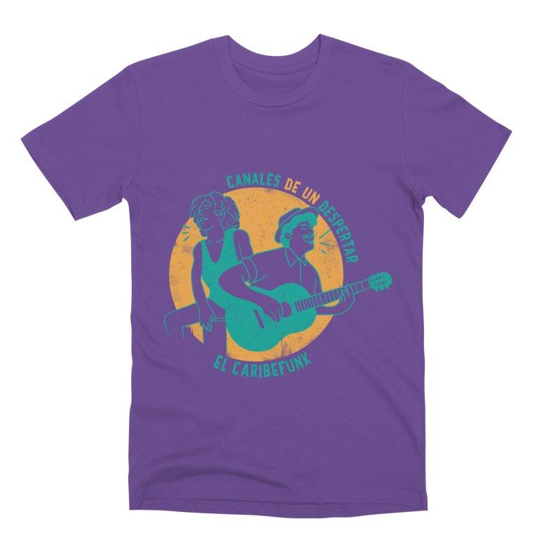 CANALES DE UN DESPERTAR Men's T-Shirt by Caribefunk Store
