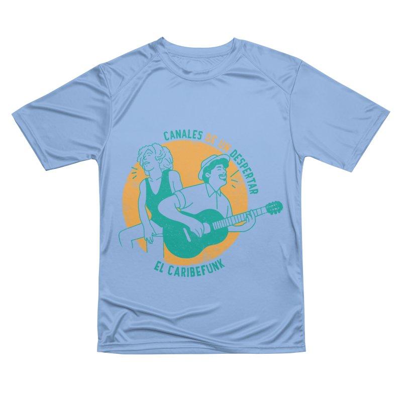 CANALES DE UN DESPERTAR Women's Performance Unisex T-Shirt by Caribefunk Store