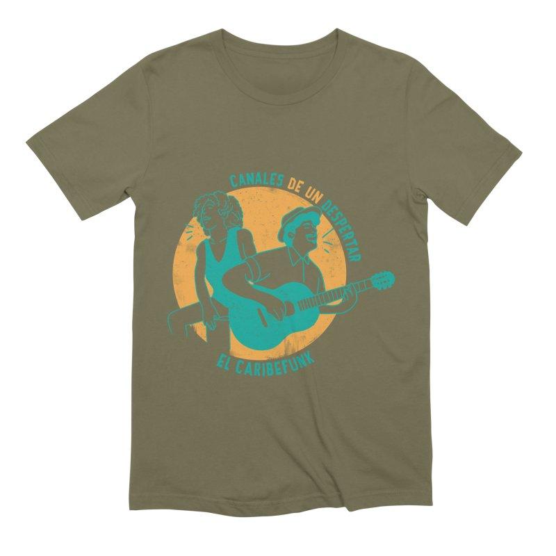 CANALES DE UN DESPERTAR Men's Extra Soft T-Shirt by Caribefunk Store