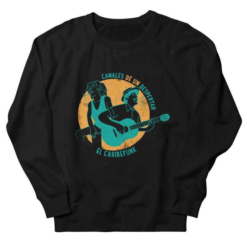 CANALES DE UN DESPERTAR Men's French Terry Sweatshirt by Caribefunk Store